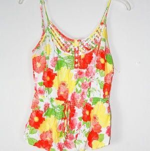 Aeropostale floral blouse